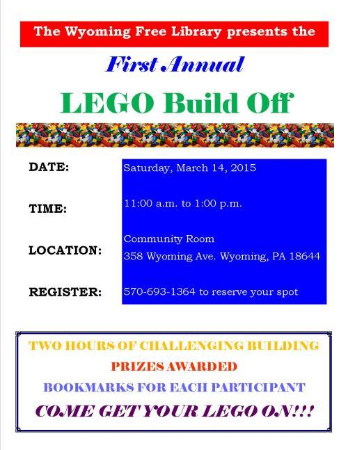 LEGO Build Off