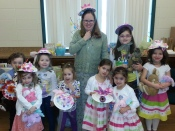 Bunnies and Bonnets Tea Party - March 19, 2016